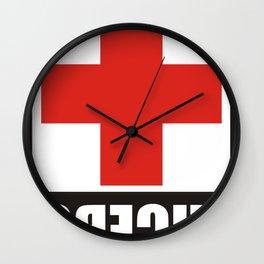 Lucero Cross Schmitt Stix 72 Wall Clock