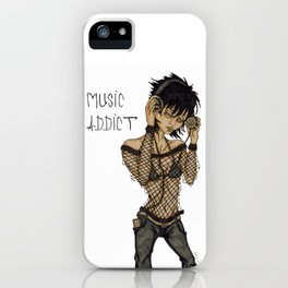 Music Addict iPhone Case