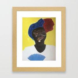 Her Name is Esperanza Framed Art Print