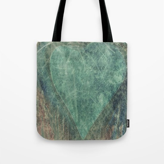 Emerald Heart Tote Bag