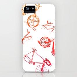 summer bikes iPhone Case