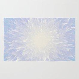 Mandala Flower || Blue Rug