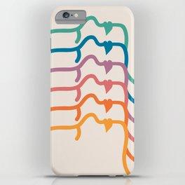 Boca Silhouettes iPhone Case