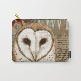 The Barn Owl Journal Carry-All Pouch