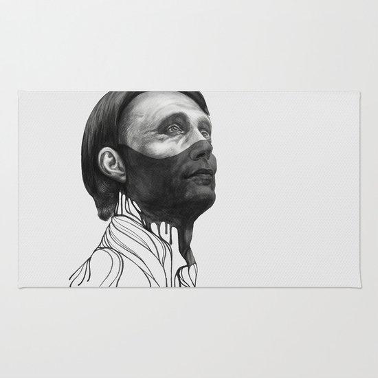Hannibal Lecter Rug