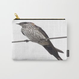 Red-Rumped Swallow Vector Background Removed Carry-All Pouch