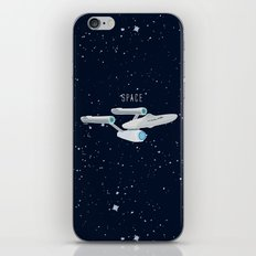 Star trek Star ship Enterprise NCC-1701 iPhone & iPod Skin