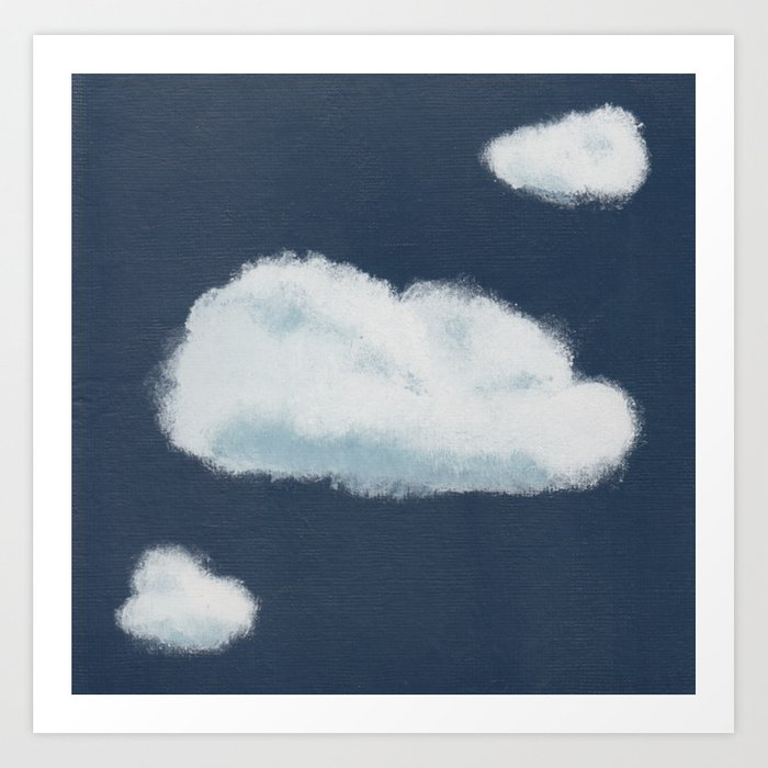 Dare to Dream - Cloud 7 of 100 Art Print
