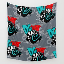 Do What You Can Wall Tapestry