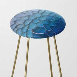 Periwinkle Dreams Counter Stool