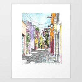 San Miguel Allende Street 2 Art Print