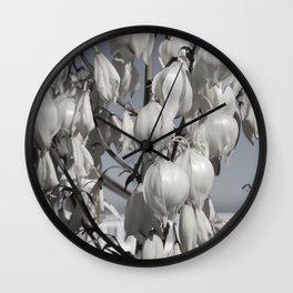 Yucca blossom Wall Clock