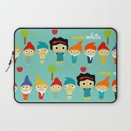 Snow White and the 7 dwarfs Laptop Sleeve