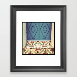 Pattern & colore Framed Art Print