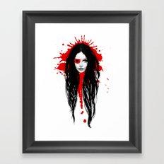 Pirata Blood Framed Art Print