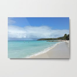 Antigua Beach Metal Print