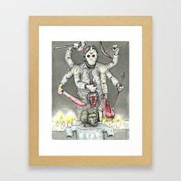 God of the Lake Framed Art Print