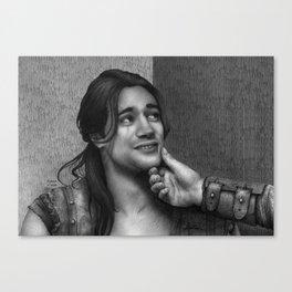 Cute Nasir (Nagron, Spartacus) Canvas Print