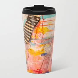 The Flip Flop Metal Travel Mug