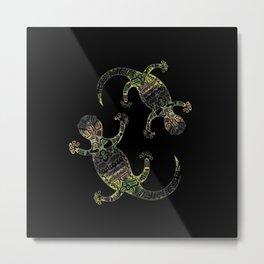 salamanders Metal Print