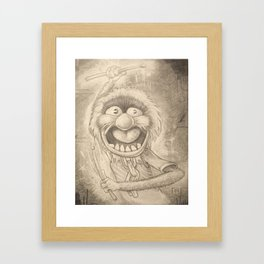 Animal in Pencil Framed Art Print