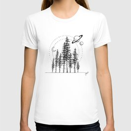 Forrest in Space T-shirt