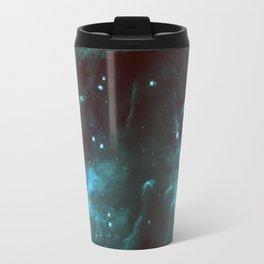 GalaXY Deep Teal Horsehead Nebula Travel Mug