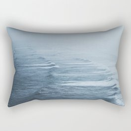 Storms over the Pacific Ocean Rectangular Pillow