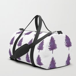 pear tree, strings on white Duffle Bag