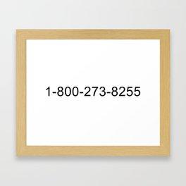 WE CAN HELP Framed Art Print