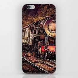 Steam Abstraction iPhone Skin