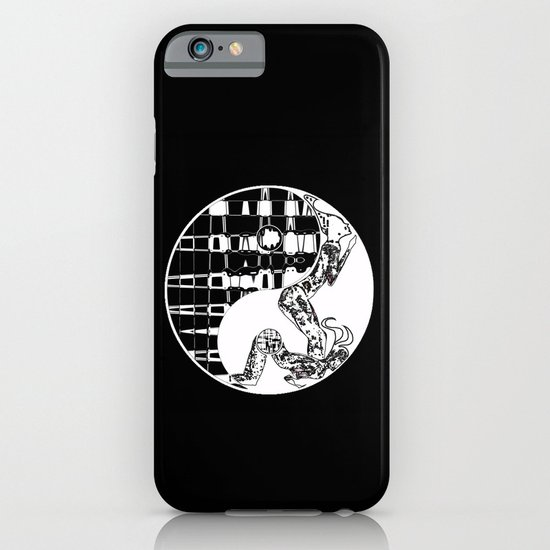 yin and yang iPhone & iPod Case