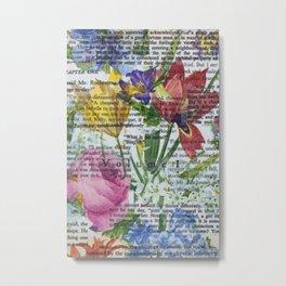 Flowery Prose Metal Print
