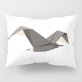 Origami Seagull Pillow Sham