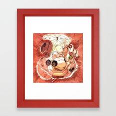 In Utero Framed Art Print