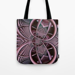 Mind-boggling, fractal abstract Tote Bag