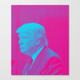 Portrait  of President Donald Trump Canvas Print
