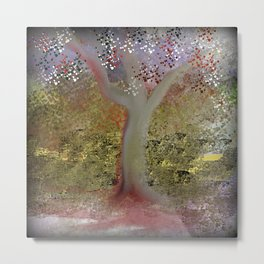 Pretty Tree Metal Print