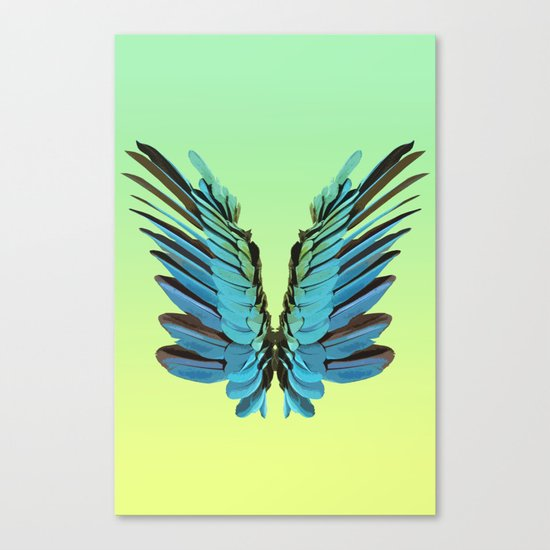 Macaw Wings Canvas Print