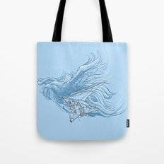 gliding on the wind Tote Bag