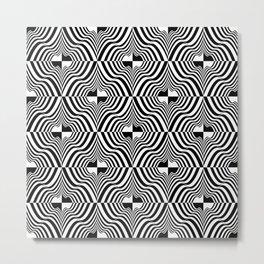 Ruffles and Ridges Metal Print