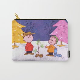 Movie A Charlie Brown Christmas Charlie Brown Linu Carry-All Pouch