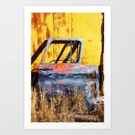 Rustic Piece Art Print