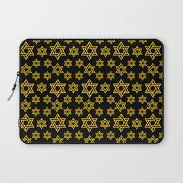 Star of David Pattern Laptop Sleeve