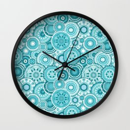 Moroccan vector pattern Wall Clock