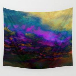 deep purple sky Wall Tapestry