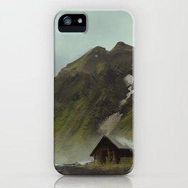 Mountain Cabin iPhone Case
