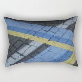 color stripe angles Rectangular Pillow