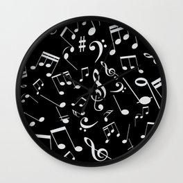 Musical Notes 20 Wall Clock