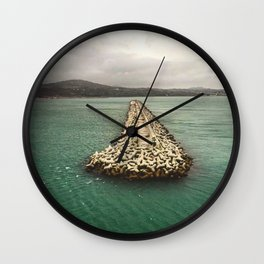A Dream of Greece Wall Clock